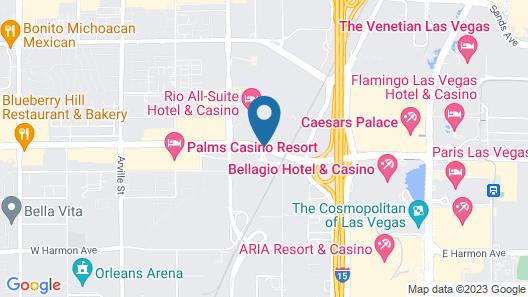 Rio All-Suite Hotel & Casino Map