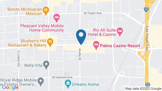 Palms Place Map