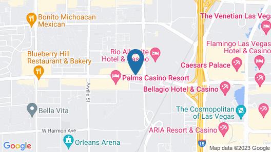 Gold Coast Hotel and Casino Map