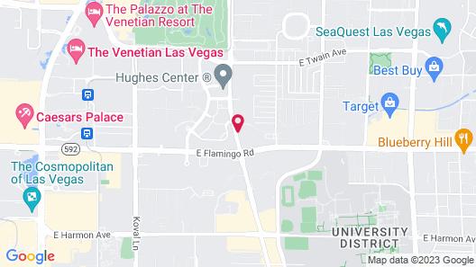 Sonesta Simply Suites Las Vegas Map