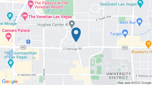Candlewood Suites Las Vegas-Convention CTR Area Map