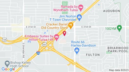 Fairfield Inn & Suites by Marriott Tulsa Central Map