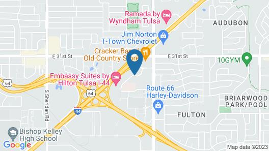 Days Inn by Wyndham Tulsa Central Map