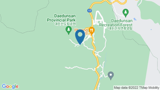 Daedunsan Hotel Map
