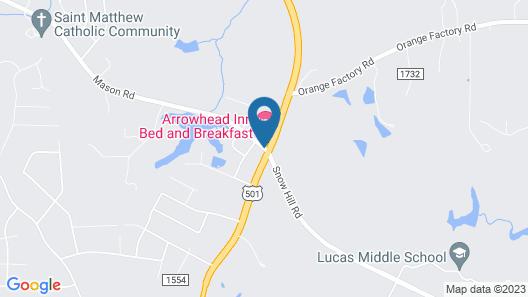Arrowhead Inn Map