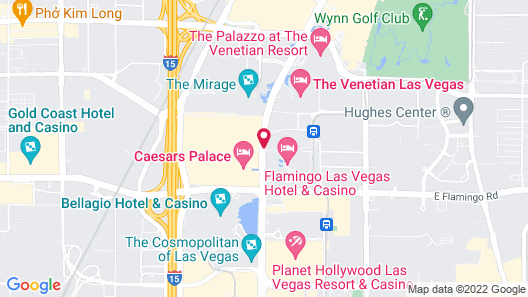 The LINQ Hotel + Experience Map