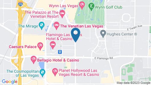 Holiday Inn Club Vacations at Desert Club Resort Map