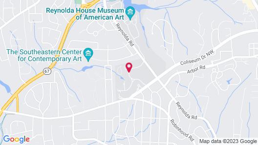Graylyn Estate Map