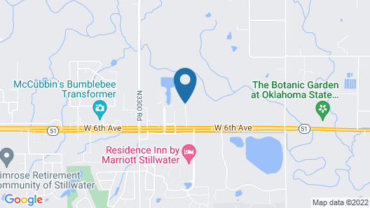SpringHill Suites by Marriott Stillwater Map