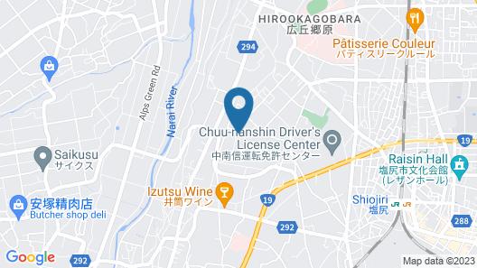 Sugano Ryokan Map
