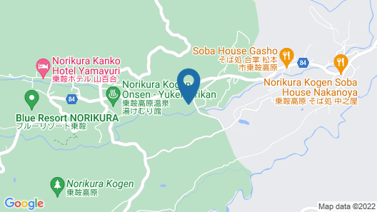 Alpine Inn Mizushiro Map