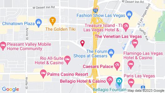 Club Wyndham Desert Blue Map