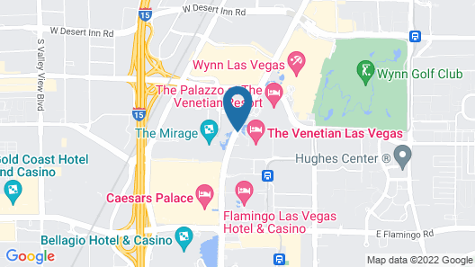 The Venetian Resort Las Vegas Map