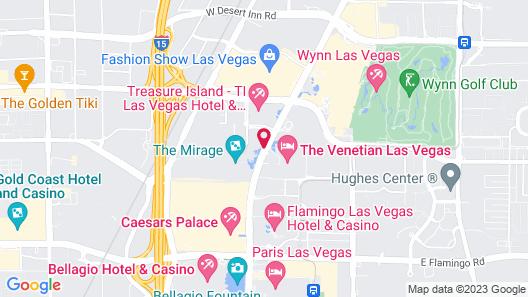 The Mirage Hotel & Casino Map
