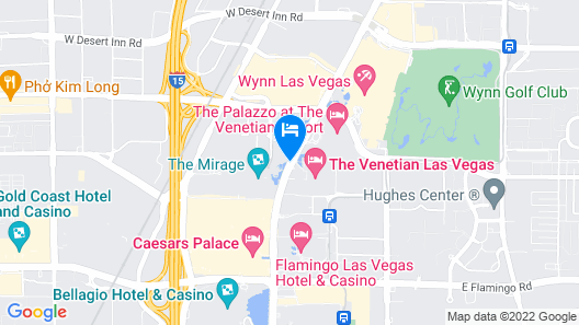 The Mirage Hotel & Casino Map