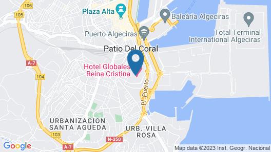 Globales Reina Cristina Map