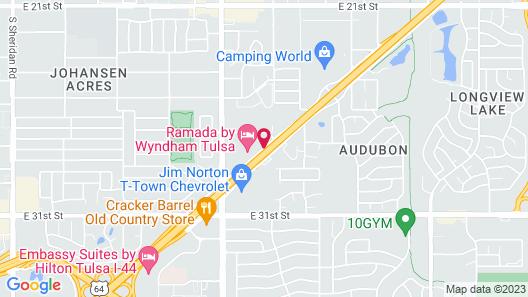 Tulsa Inn & Suites Map