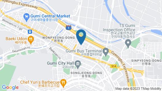 Hotel Yeogieottae 1st In Gumi Map