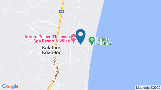 Atrium Palace Thalasso Spa Resort & Villas Map
