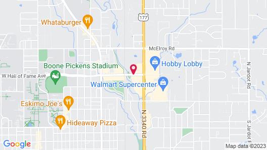 Fairfield Inn & Suites Stillwater Map