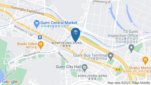 Gumi Wonpyeongdong Ace Map