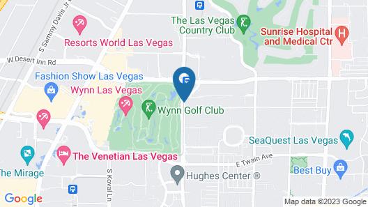 Renaissance Las Vegas Hotel Map