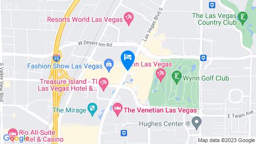 Wynn Las Vegas Map
