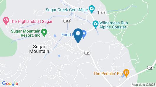 Bluegreen Vacations Blue Ridge Village an Ascend Resort Map