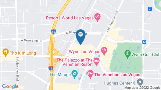 Trump International Hotel Las Vegas Map