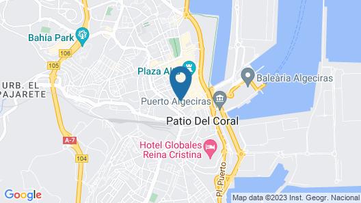 Hospedaje Lisboa Algeciras Map
