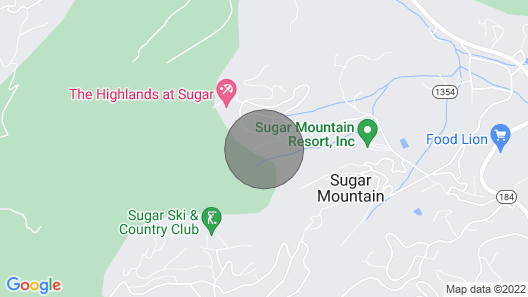 Elk Horn Lodge - Nestled among the trees in Sugar Mountain, just below the ski slopes Map