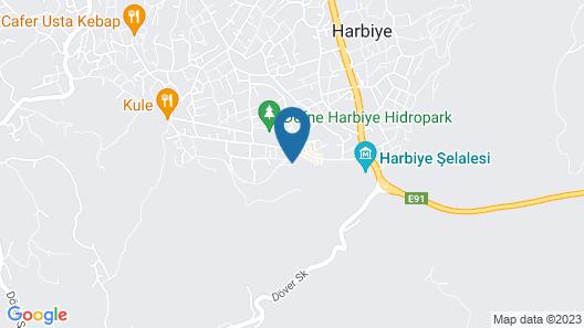 Harbiye Sara Hotel Map