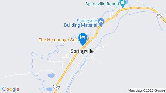 The Springville Inn Map