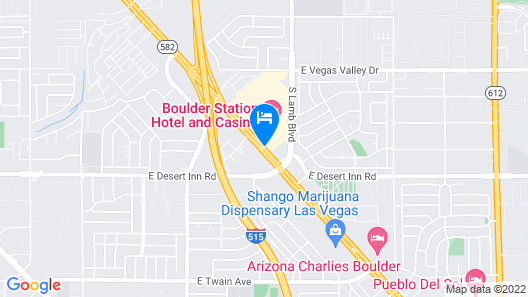 Boulder Station Hotel and Casino Map