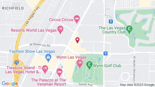 Bposhtels Las Vegas Map