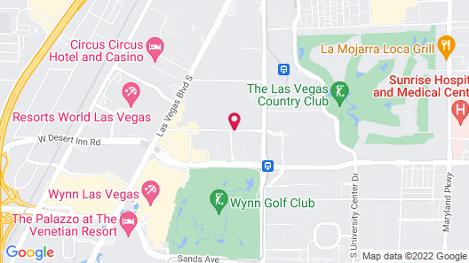 Las Vegas Marriott Map