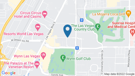 Las Vegas Marriott Map