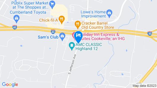 La Quinta Inn & Suites by Wyndham Cookeville Map