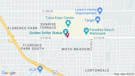 Expo Inn Hotel Map