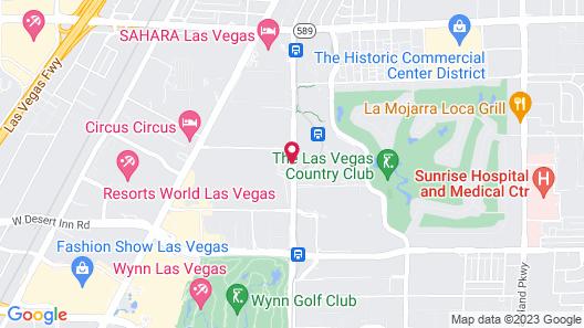 SpringHill Suites by Marriott Las Vegas Convention Center Map