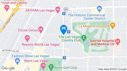 Westgate Las Vegas Resort & Casino Map