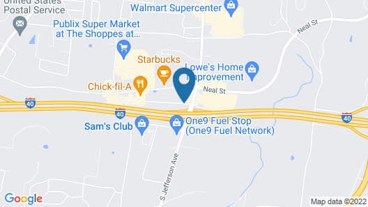 Days Inn by Wyndham Cookeville Map