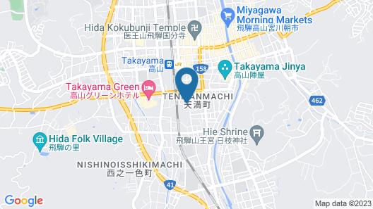WAT HOTEL& SPA HIDA TAKAYAMA Map