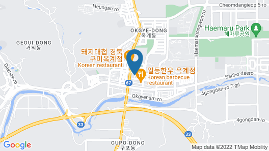 R&D Residence Hotel Map