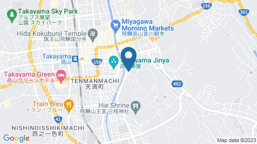 Hida Takayama Park City Hotel Map