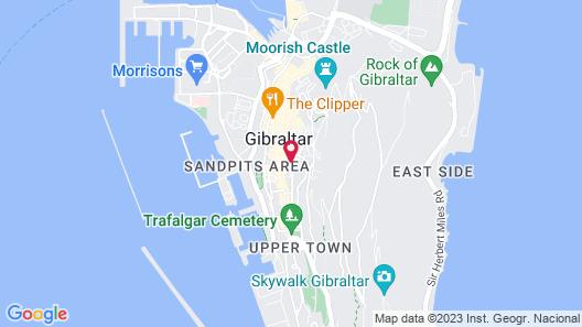 The Eliott Hotel Map