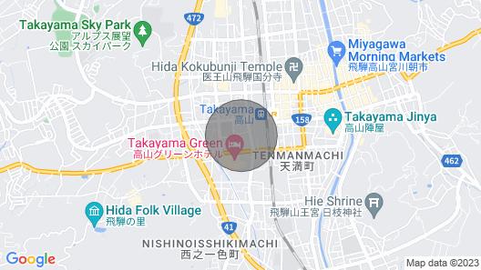 Tomato Villa Takayama Station Map