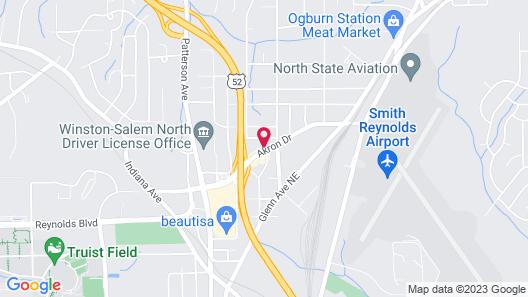 Ramada by Wyndham Winston-Salem Map