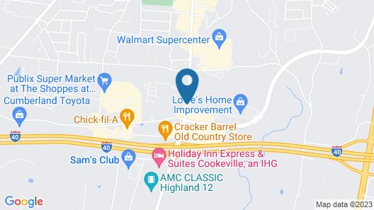 Best Western Thunderbird Motel Map
