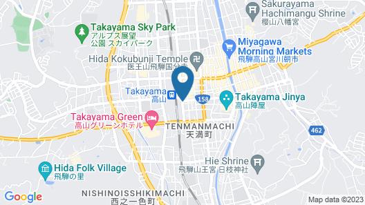 TOKYU STAY Hida-Takayama Musubi no Yu Map